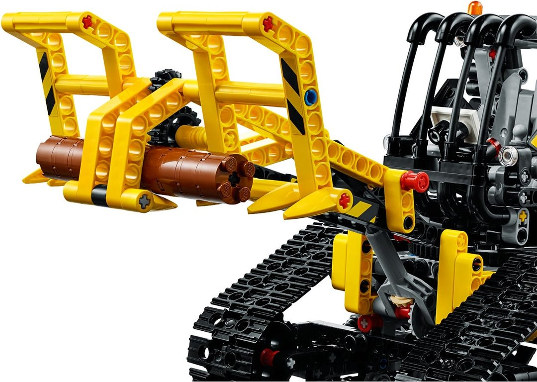LEGO® Technic Tracked Loader gameplay