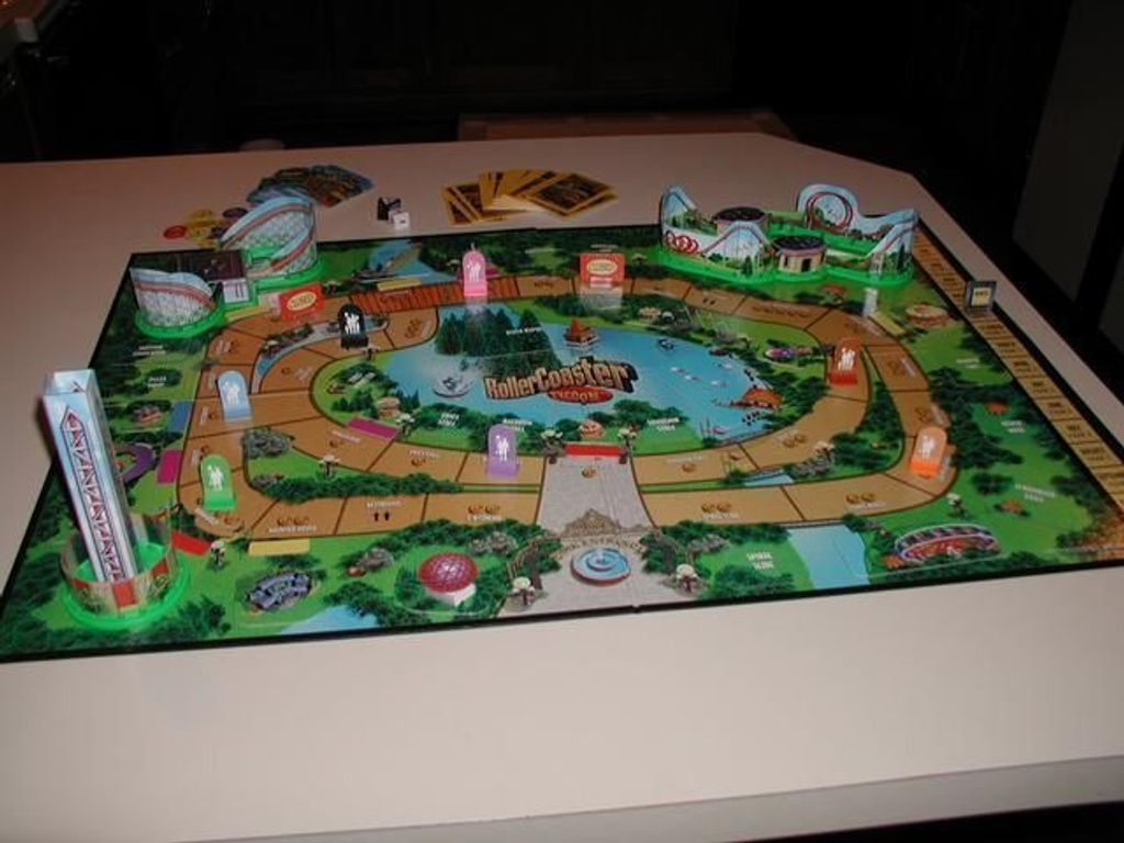 Roller Coaster Tycoon components