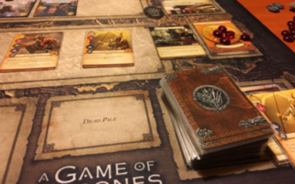 A Game of Thrones: The Card Game (Second Edition) gameplay