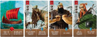 Raiders of the North Sea cards