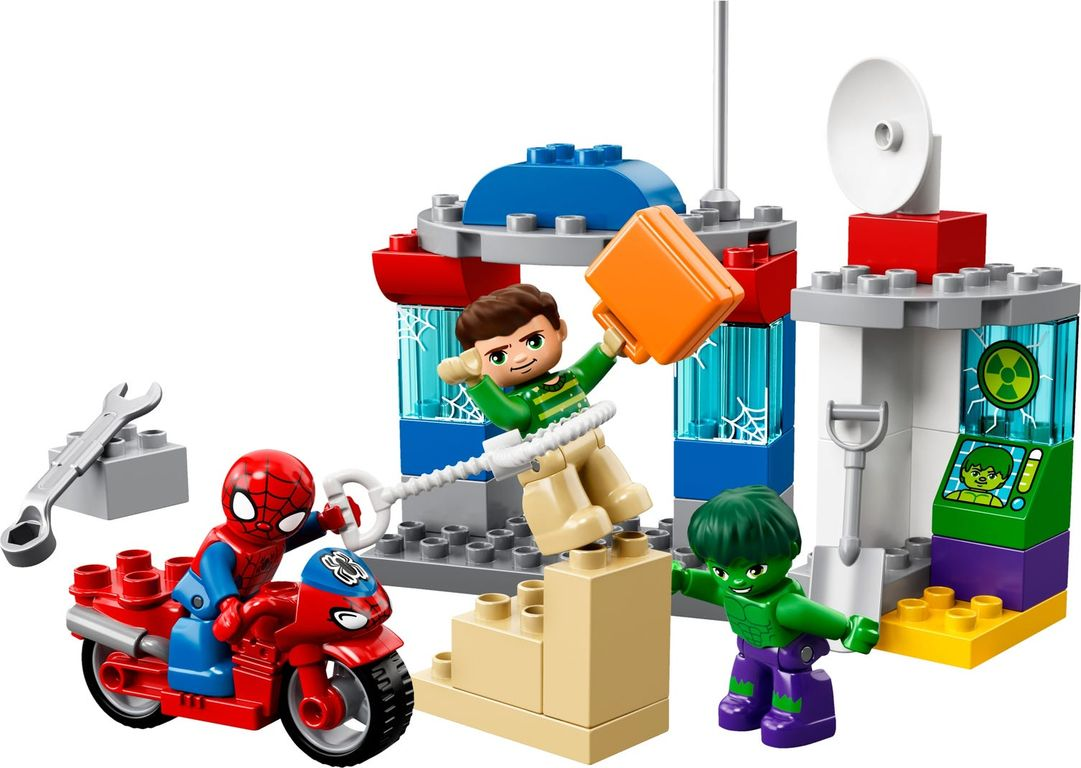 LEGO® DUPLO® Spider-Man & Hulk Adventures gameplay