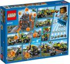 LEGO® City Volcano Exploration Base back of the box