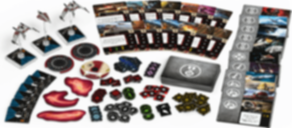 Star Wars: X-Wing (Second Edition) – Guardians of the Republic Squadron Pack components