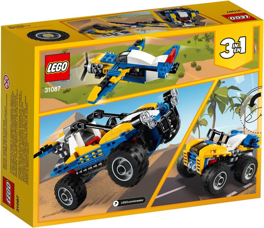 Dune Buggy back of the box