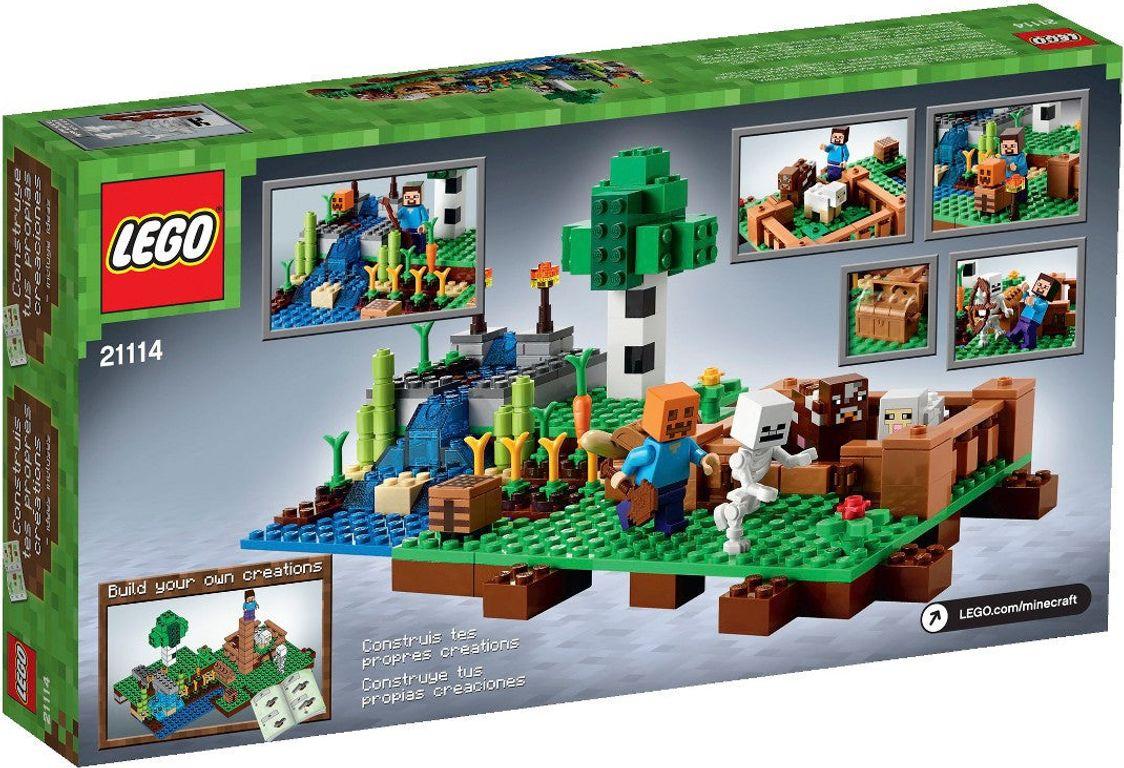 LEGO® Minecraft The Farm back of the box