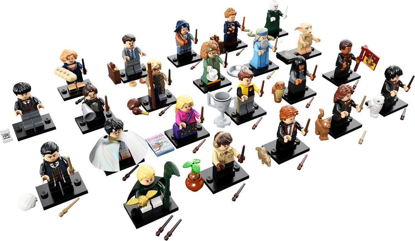 LEGO® Minifigures Harry Potter and Fantastic Beasts minifigures