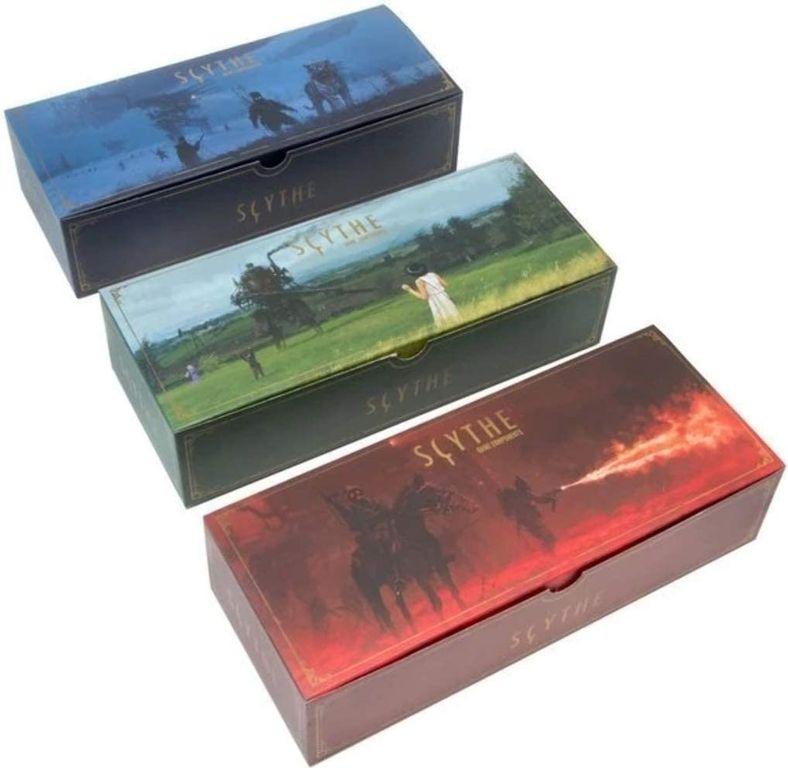 Scythe: Legendary Box components