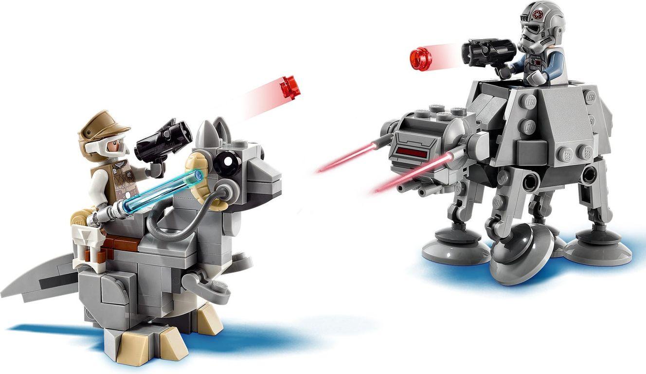 LEGO® Star Wars AT-AT™ vs. Tauntaun™ Microfighters components