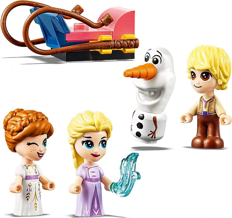 Anna and Elsa's Storybook Adventures characters