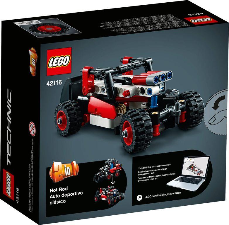 LEGO® Technic Skid Steer Loader back of the box