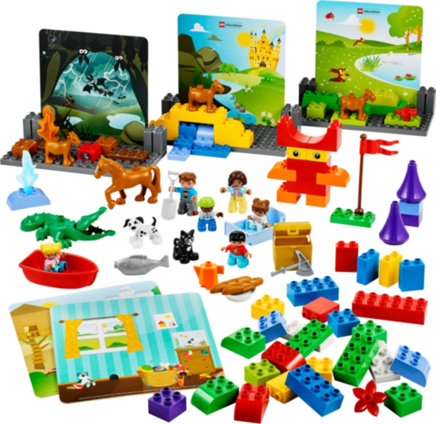 LEGO® Education StoryTales components