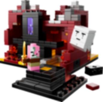 LEGO® Minecraft LEGO Minecraft The Nether 21106 gameplay