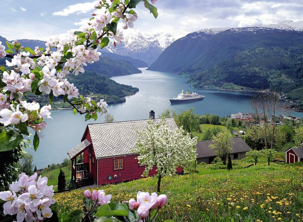Scandinavian idyll