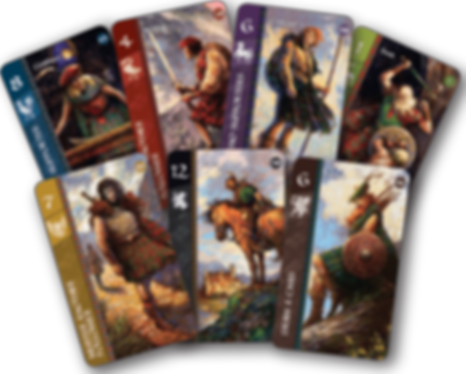 Lords of Scotland cards