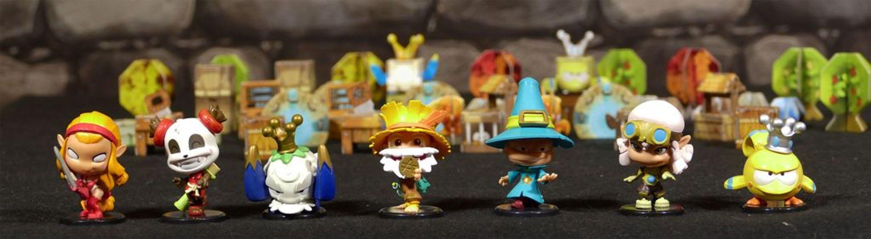 Krosmaster: Quest miniatures