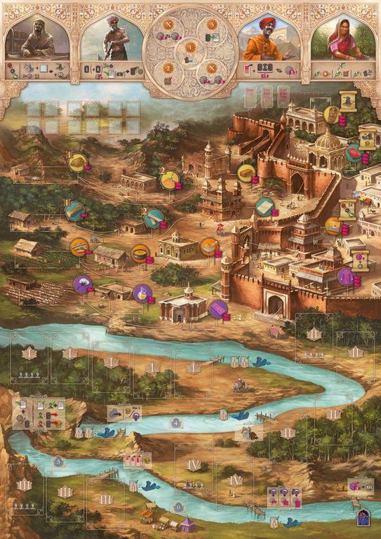 Agra game board