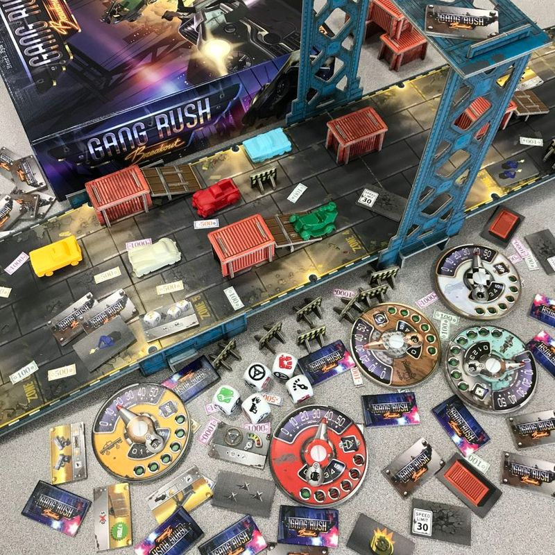 Gang Rush Breakout components
