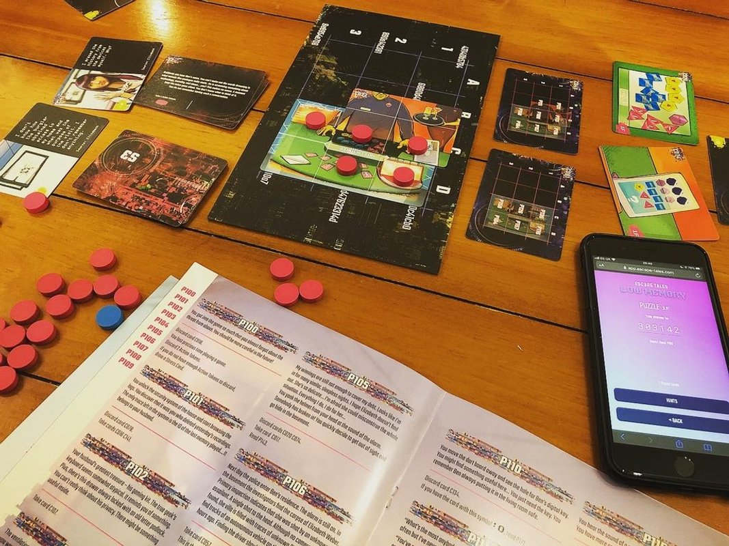Escape Tales: Low Memory components