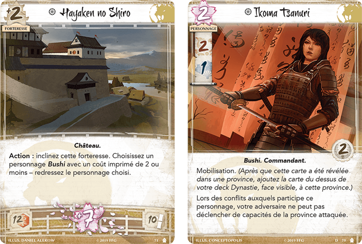 Legend of the Five Rings: Campaigns of Conquest cards