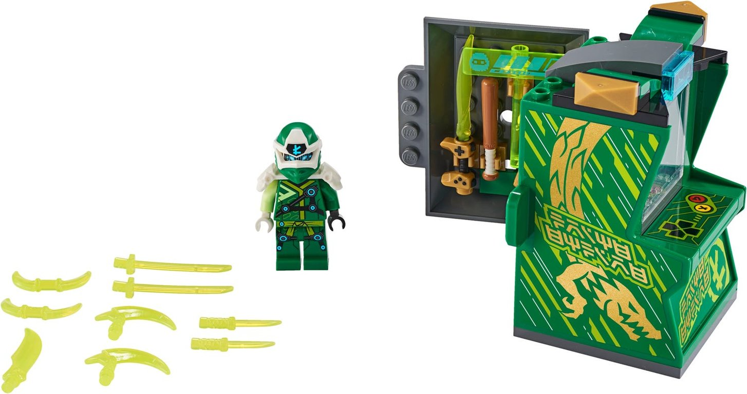LEGO® Ninjago Lloyd Avatar - Arcade Pod components