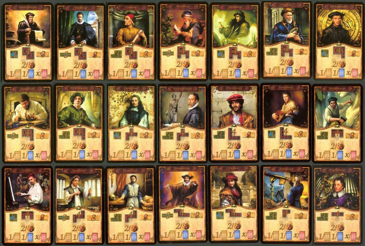 The Princes of Florence cards