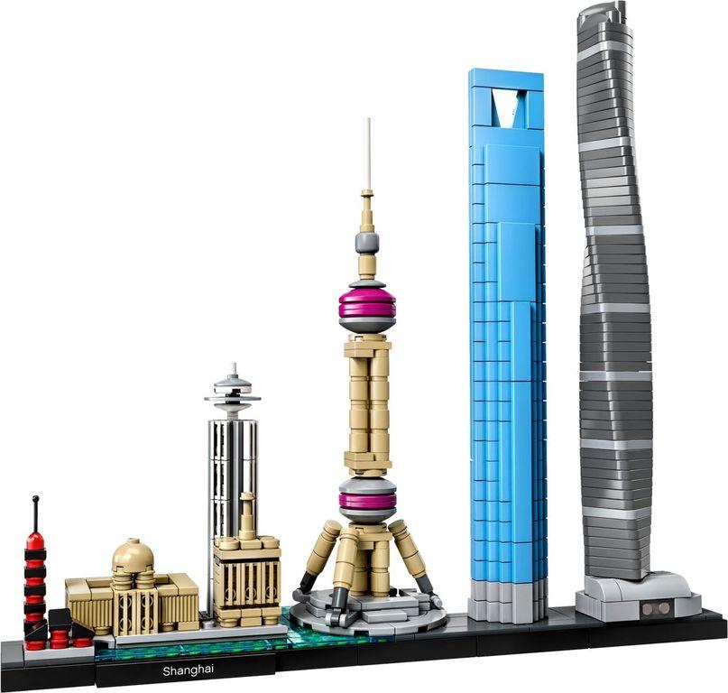 LEGO® Architecture Shanghai components