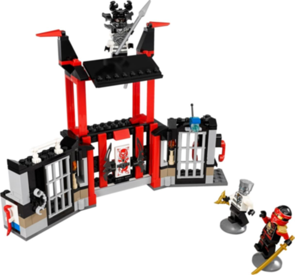 LEGO® Ninjago Kryptarium Prison Breakout gameplay