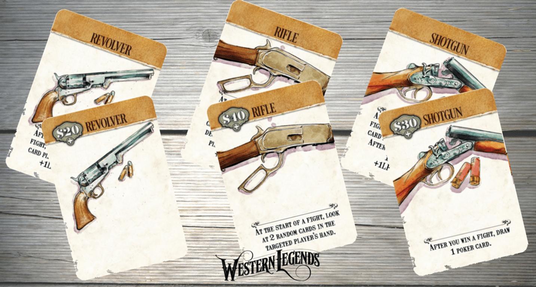 Western Legends cards