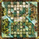 Krosmaster: Arena - Piwate Island game board