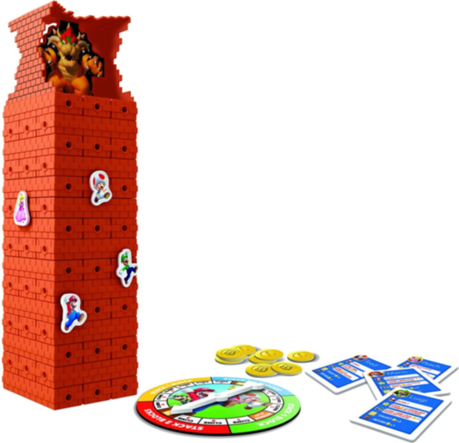 Jenga Super Mario Edition gameplay
