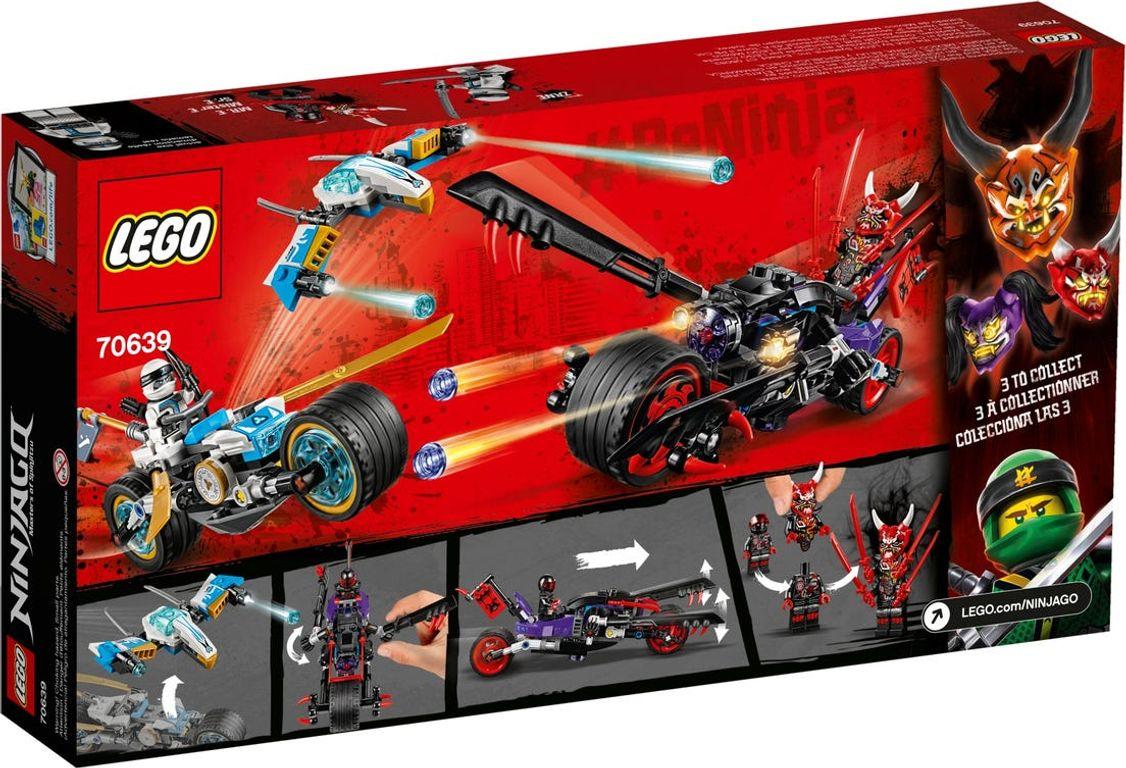 LEGO® Ninjago Street Race of Snake Jaguar back of the box