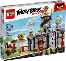 LEGO® Angry Birds King Pig's Castle