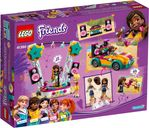 LEGO® Friends Andrea's Car & Stage back of the box