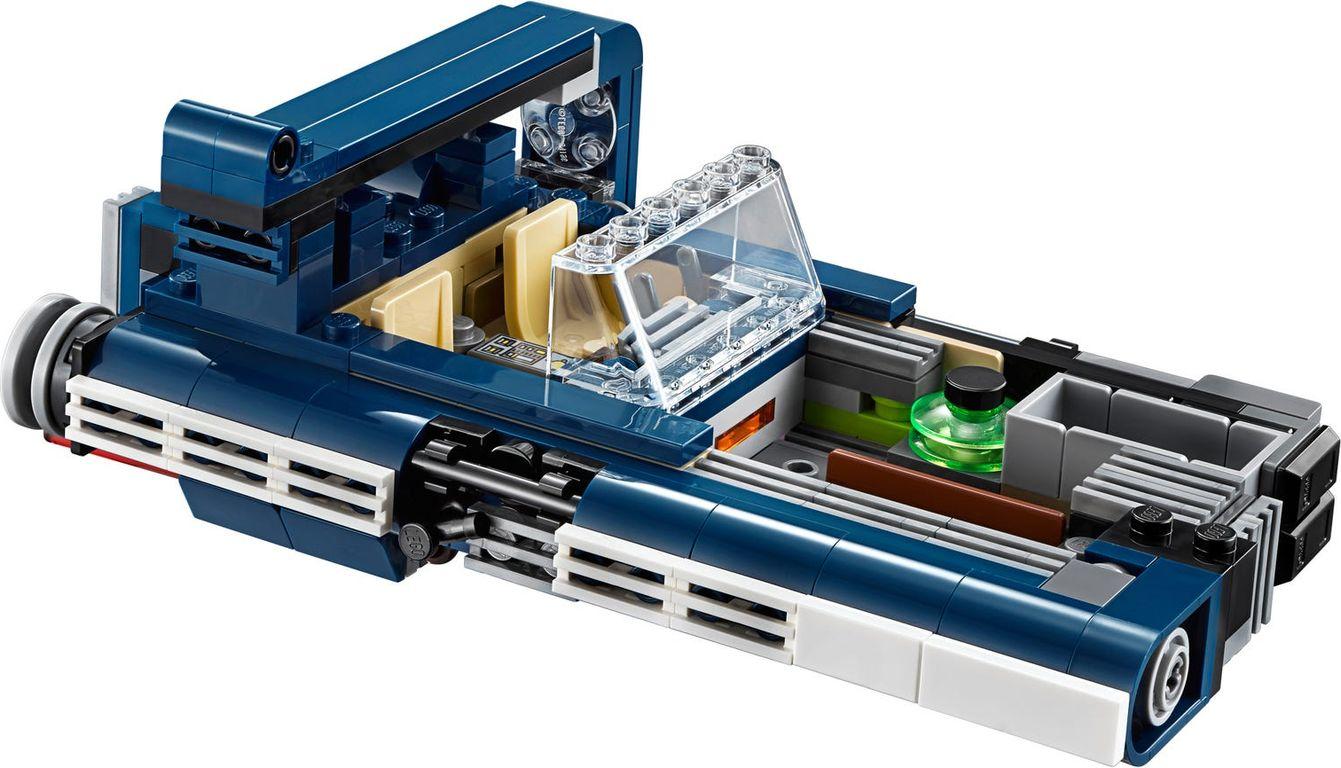LEGO® Star Wars Han Solo's Landspeeder™ components