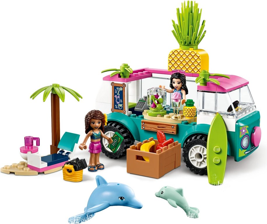 LEGO® Friends Juice Truck gameplay