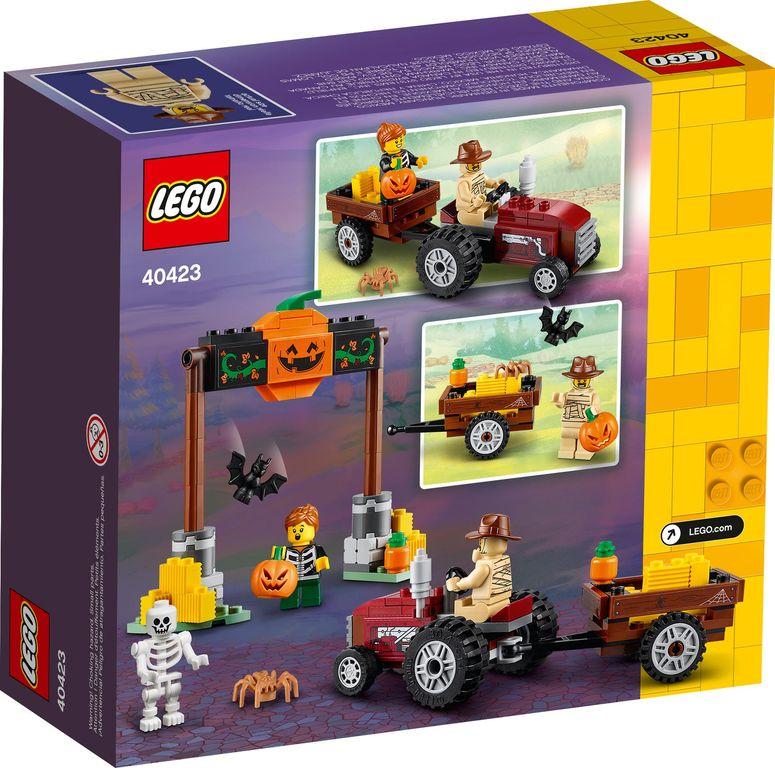 Halloween Hayride back of the box