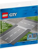 LEGO® City Straight and T-junction