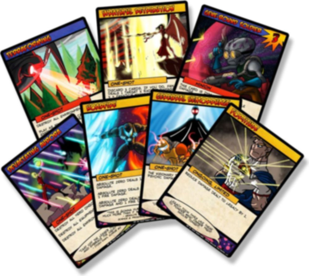 Sentinels of the Multiverse cards