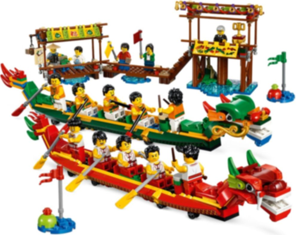 Dragon Boat Race gameplay