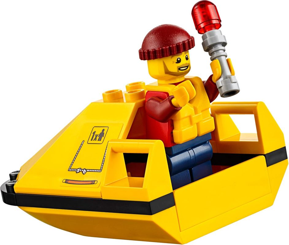 Sea Rescue Plane minifigures