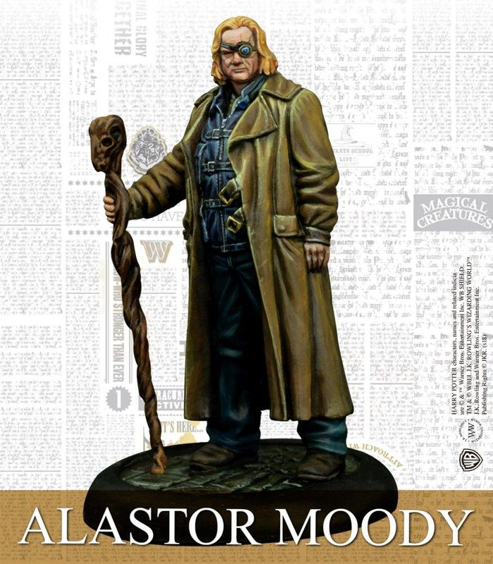 Harry Potter Miniatures Adventure Game: Order of the Phoenix Pack Alastair Moody miniature