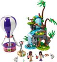 LEGO® Friends Tiger Hot Air Balloon Jungle Rescue components