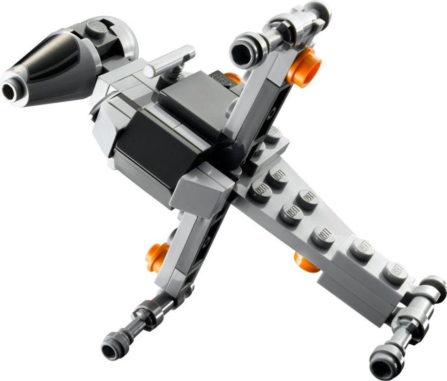 LEGO® Star Wars B-wing Starfighter & Planet Endor spaceship