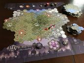 HEXplore It: The Valley of the Dead King game board