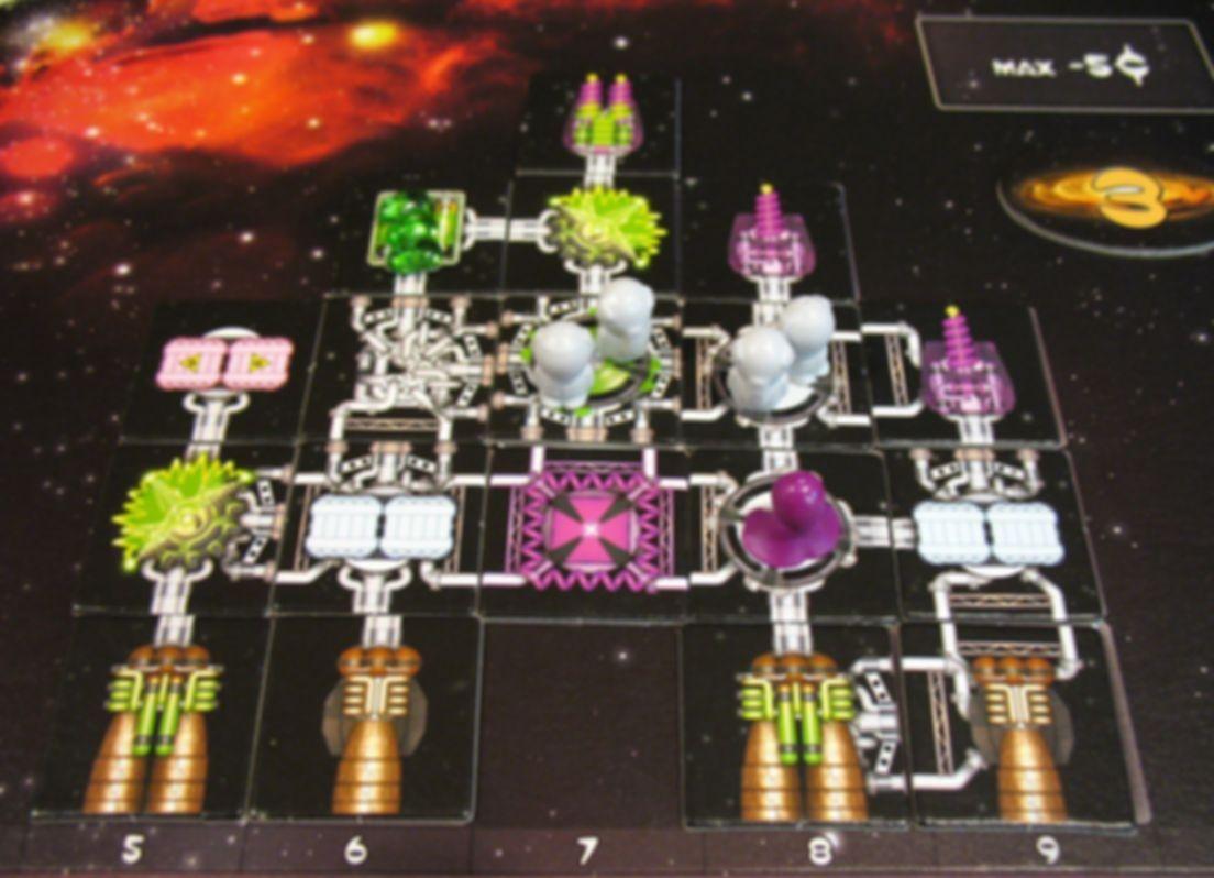 Galaxy Trucker gameplay