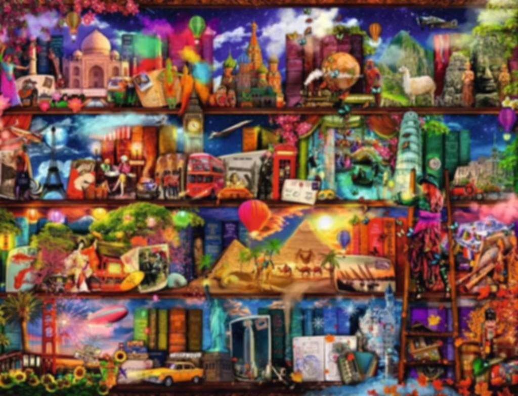 Aimee Stewart Travel Shelves