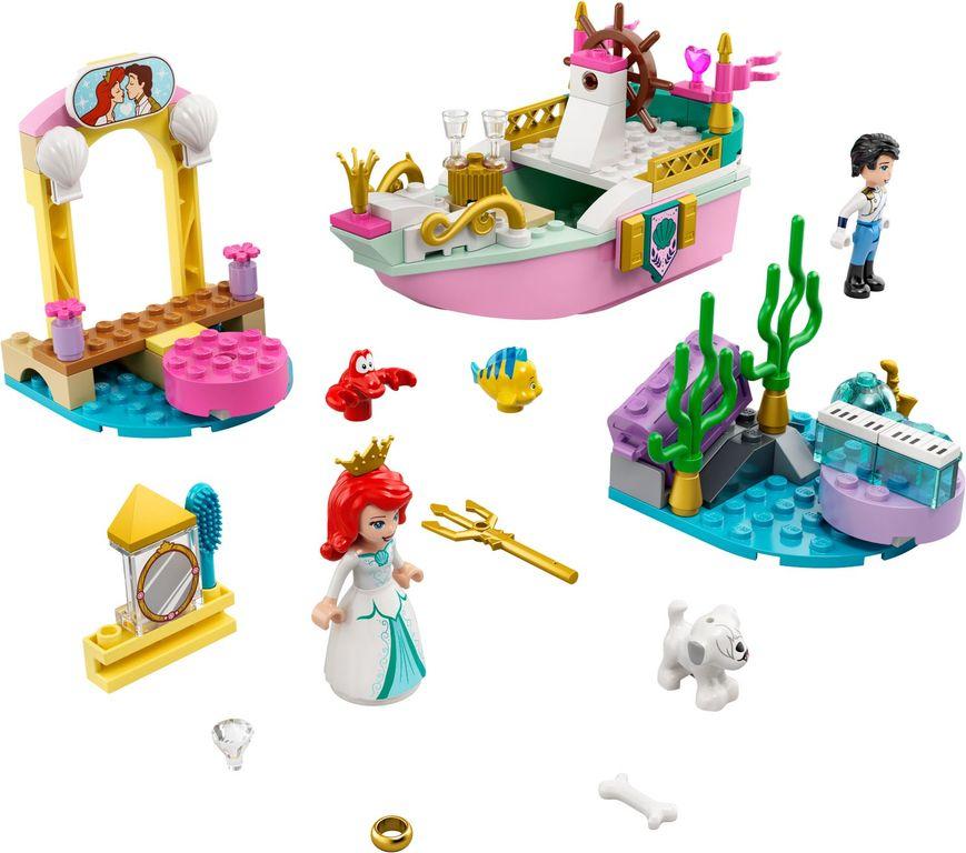 Ariel's Celebration Boat components