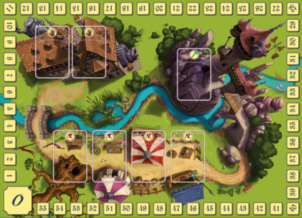 Gnomeland game board