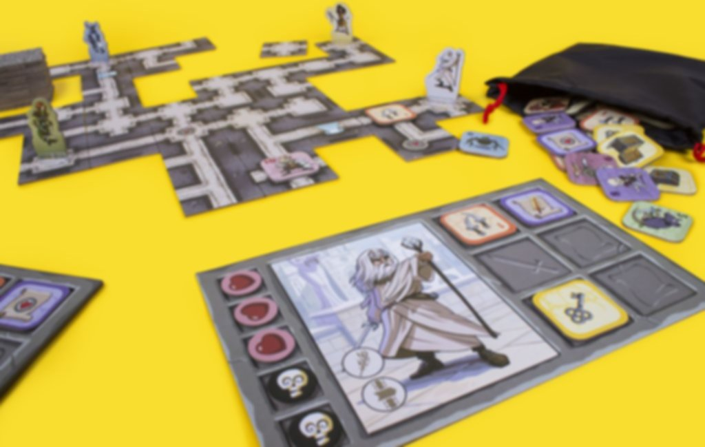 Catacombs of Karak gameplay