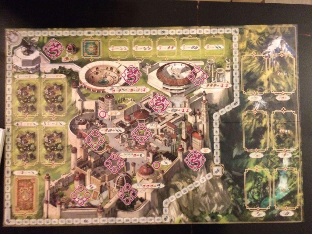 Simurgh game board